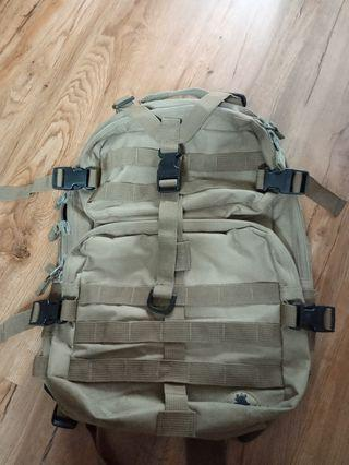 Army Backpack rugged stylish good condition