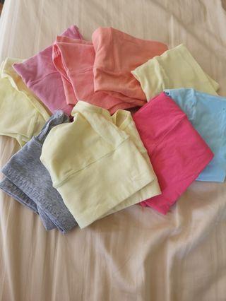 (NEW) 9 x 100% cotton underwear