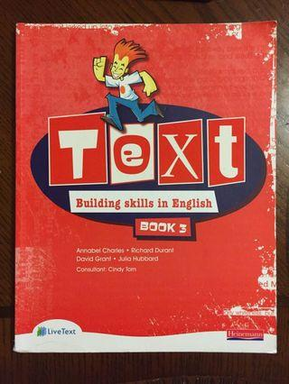Text Building Skills in English Book 3
