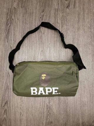 DUFFLE BAG BAPE MILITARY GREEN
