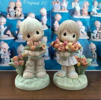 Precious Moments ~ You Color My World With Your Love (Set of 2)