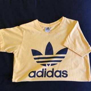 Yellow ADIDAS t-shirt