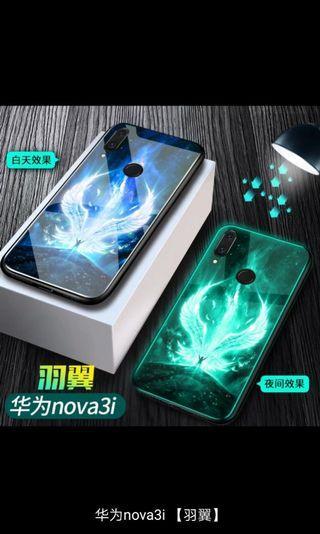 🚚 Huawei Nova 3i casing Glow in the dark #GSS