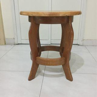 solid wooden stand/stool