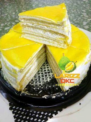 Millie durian crape cake