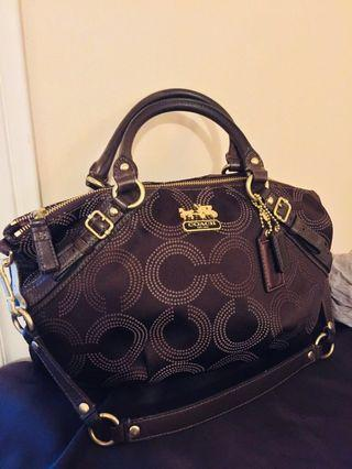 Authentic COACH 2 way carryall bag