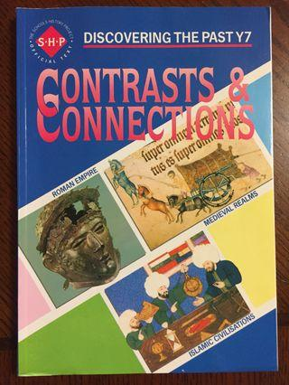 History Textbook Contrasts & Connections Discovering the Past Y7