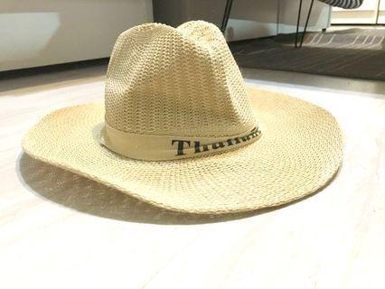 草帽 質感100% 泰國職人製作!