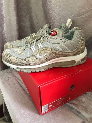 Nike Air Max 98/Supreme SUPREME98 844694-100 男鞋