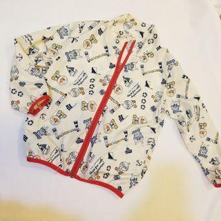 麵包風褸 size 110 Wind jacket anpanman
