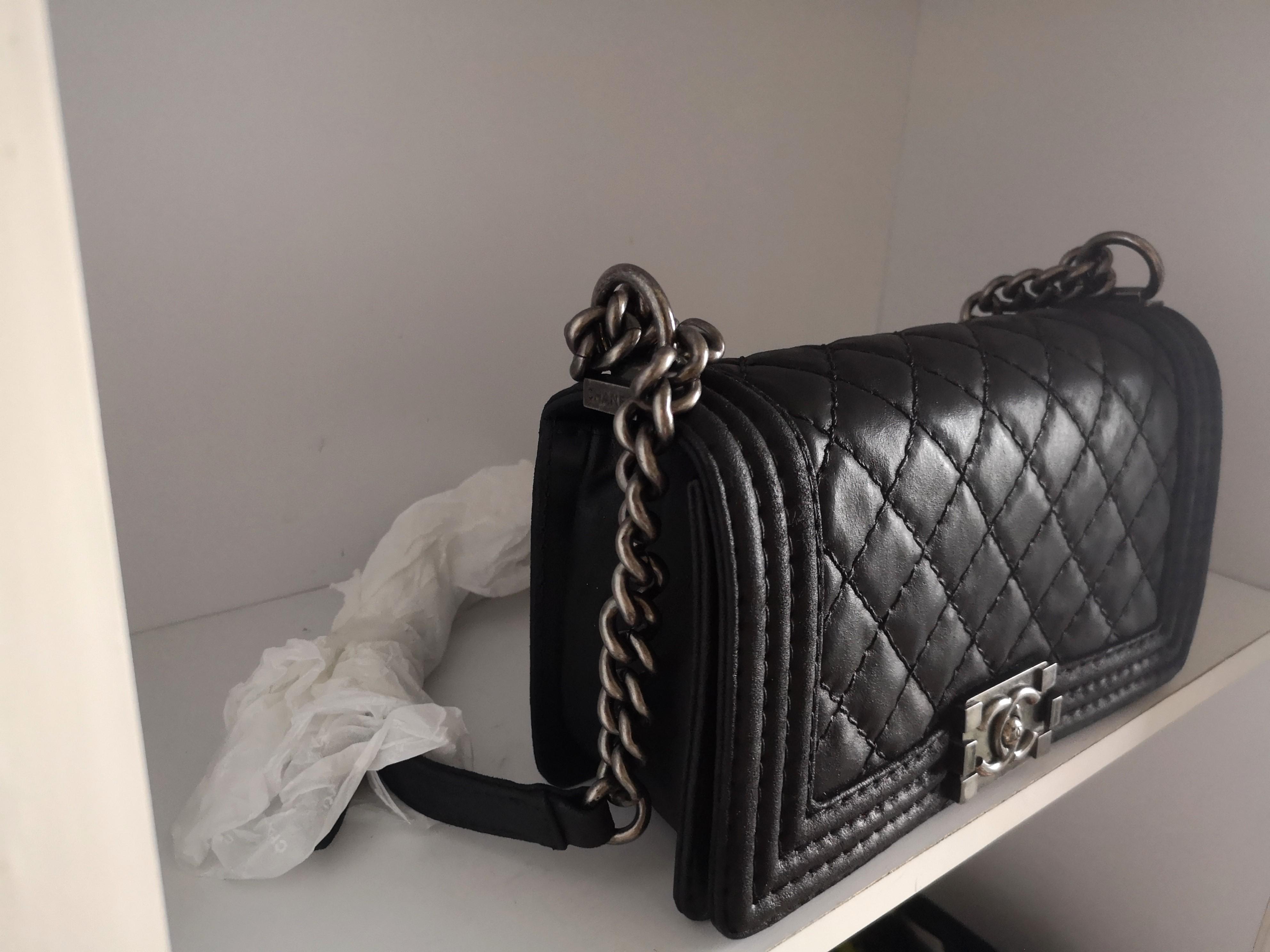 100% Authentic Chanel Boy Medium