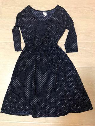 Monki polka dot dress