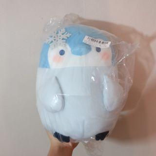Penguin winter snowflake stuffed animal toy