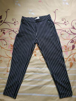 Stripe Scuba Pants