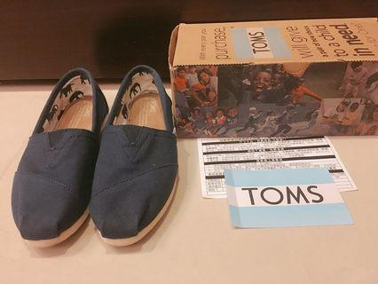 🚚 TOMS 正品 經典款 海軍藍