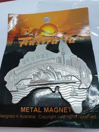 Australia metal map fridge magnet rm12 New