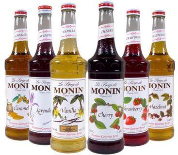 全新 Monin Syrup / Puree 糖漿