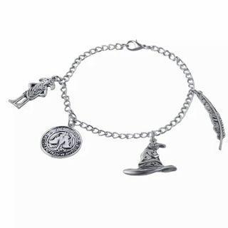 [FREE POSTAGE] 4 Charms Harry Potter Bracelet