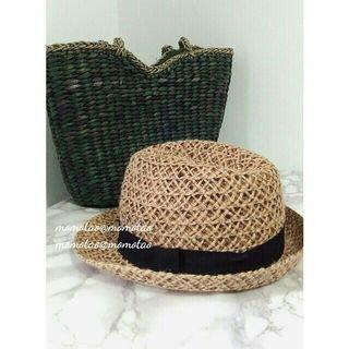 🚚 🇰🇷首爾購入✈ 【全新】藤編草帽 紳士帽 編織帽 老爺帽
