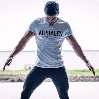 🚚 ALPHALETE Short Sleeved Gym Tee (PREORDER‼️)