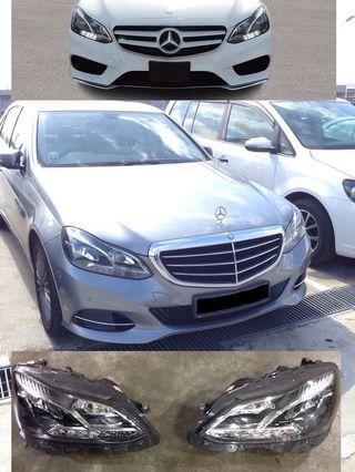Mercedes E-Class 2014/15 headlights for sale - call 91018983