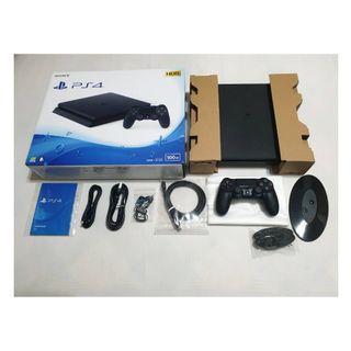(保固內近全新)PS4 slim 2117黑色二代薄型機