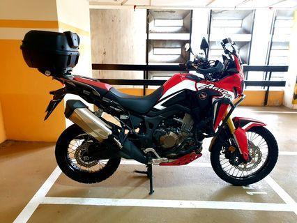 WTT 2017 Africa Twin non-DCT for BMW F800GS