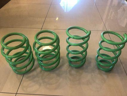Proton Iriz or Persona 2016 - 4Flex Lowered Springs - Plug and Play