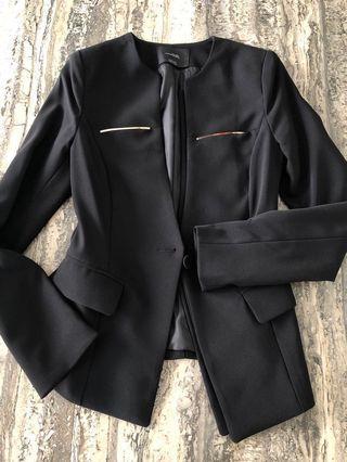 Korea Black Blazer