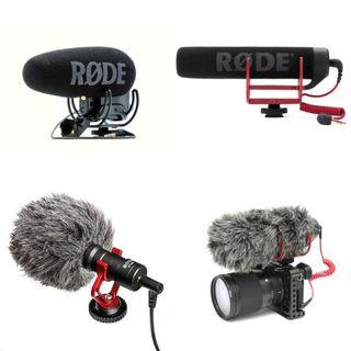 SEWA Rode Videomic Pro Plus , GO, Boya BY-MM1 for Rental