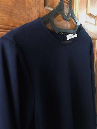 Shopatvelvet - Navy Top