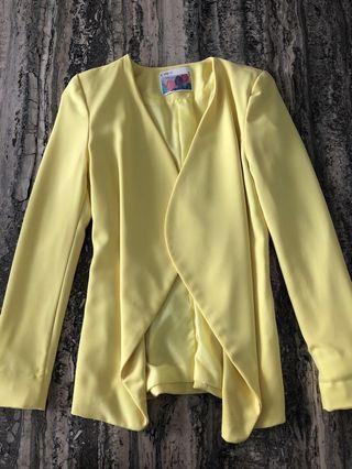 Korean yellow blazer
