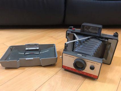 Polaroid land camera 104 寶麗來 即影即有