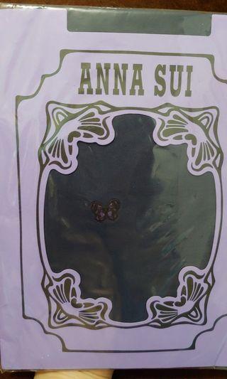 Anna Sui絲襪 深紫色 (全新未使用 抽獎禮品)