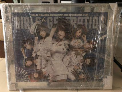 SNSD Framed Genie Poster