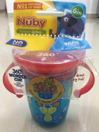 NUBY 360 WONDER CUPS 8OZ/240ML