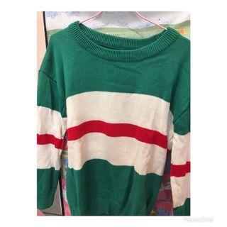 🚚 湖水綠毛衣