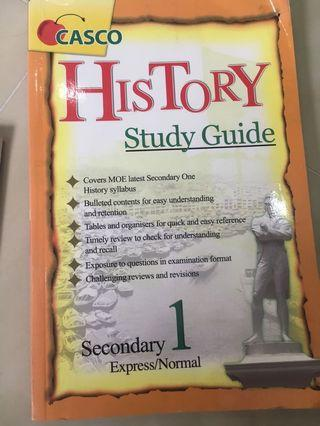 Secondary 1 (express/normal) History study guide