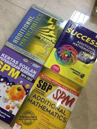 SPM Reference Books (Add Maths)