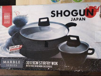 La gourmet wok 30cm