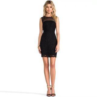 🍍PREORDER🍍Gloria Black Bodycon dress