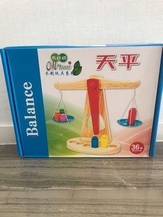 Montessori balance play