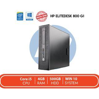 CPU HP Elitedesk 800 G1 REFURBISH / Core i5 / 4GB RAM / 500GB HDD