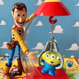三眼怪 夾子 日本帶回 火箭 玩具總動員 迪士尼 皮克斯 三眼 阿三 PIXAR TOYSTORY 景品