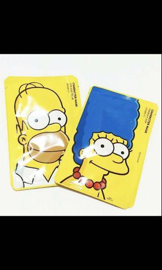 The Simpsons mask 面膜 the face shop Bart 最後5塊!