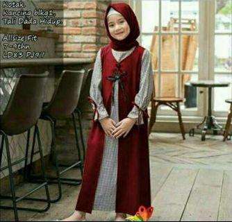 Fateen kids maroon