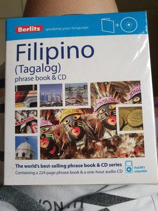 Filipino book language and CD