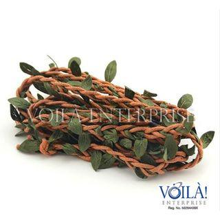 Artificial Flower Vine - Reddish Brown