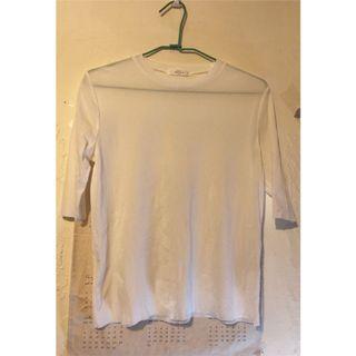 全新轉賣 Meier Q 白色微透膚M 圓領T-Shirt  (Dogoose Cover.com Mercci22 Pazzo Perdot 可參考) #半價衣服拍賣會