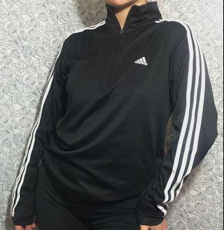 Adidas half zip up dry fit sweater